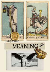 The Hermit and Knight Of Cups