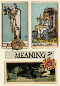 The Hermit and Queen Of Cups