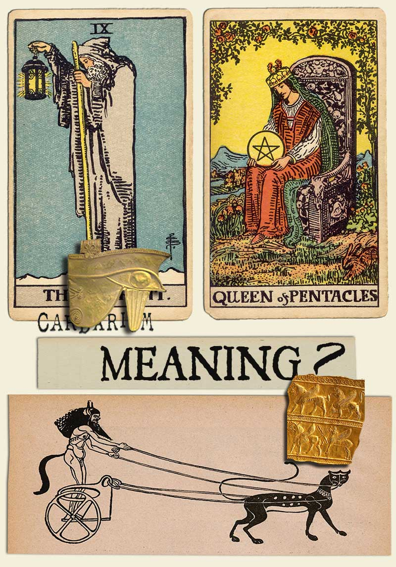 The Hermit and Queen Of Pentacles