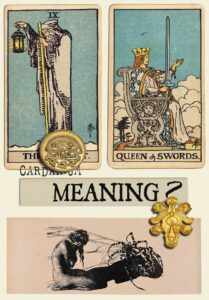 The Hermit and Queen Of Swords
