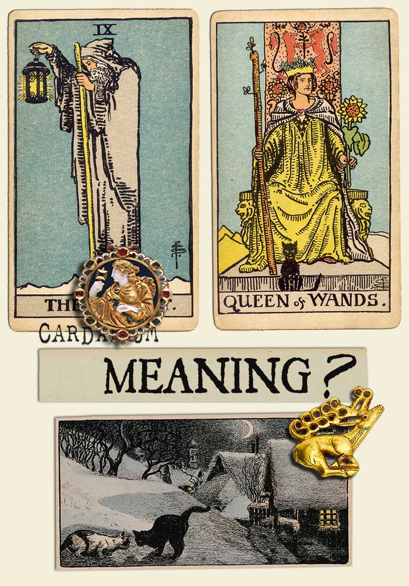 The Hermit and Queen Of Wands