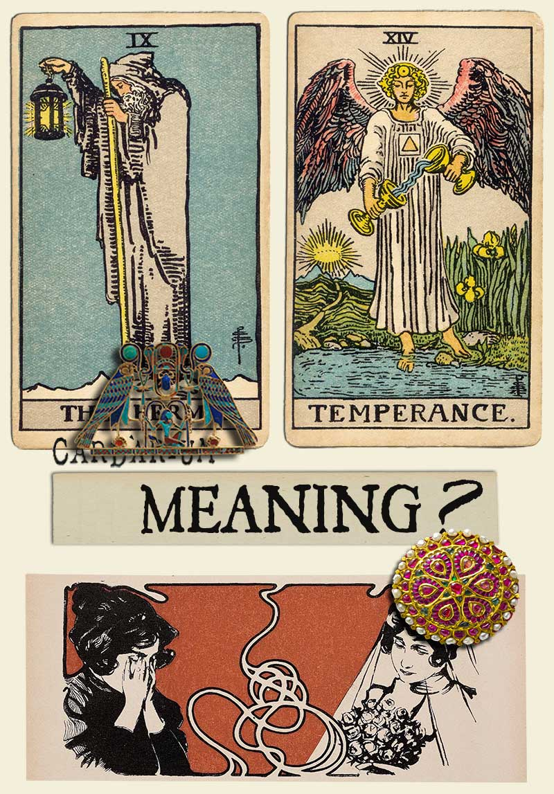 The Hermit and Temperance
