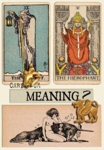 The Hermit and The Hierophant