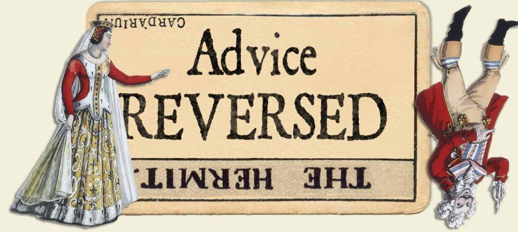 The Hermit reversed advice yes or no