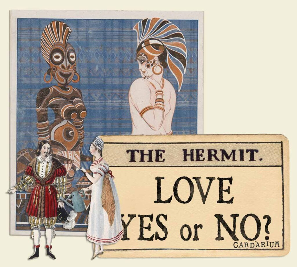 The Hermit tarot card meaning for love yes or no