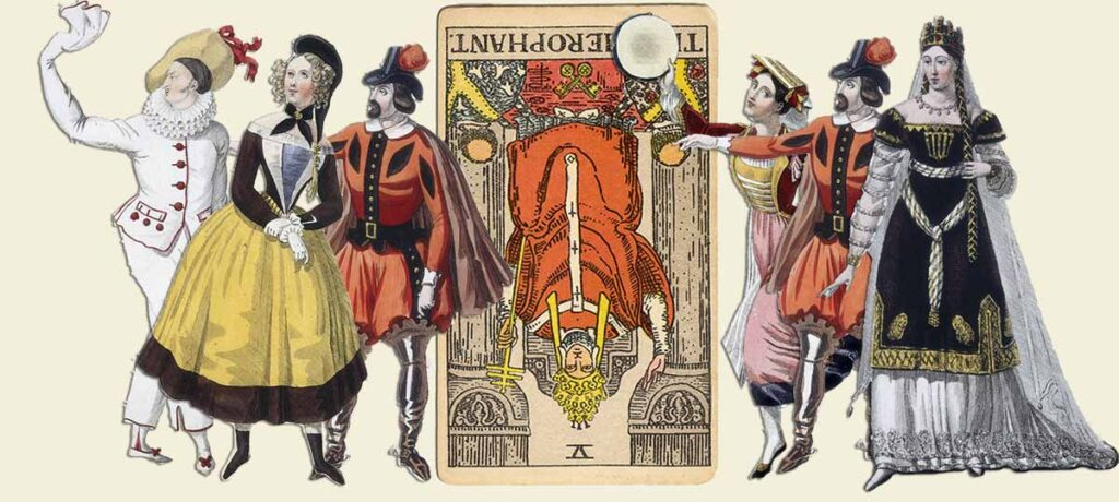 The Hierophant reversed tarot card meaning yes or no