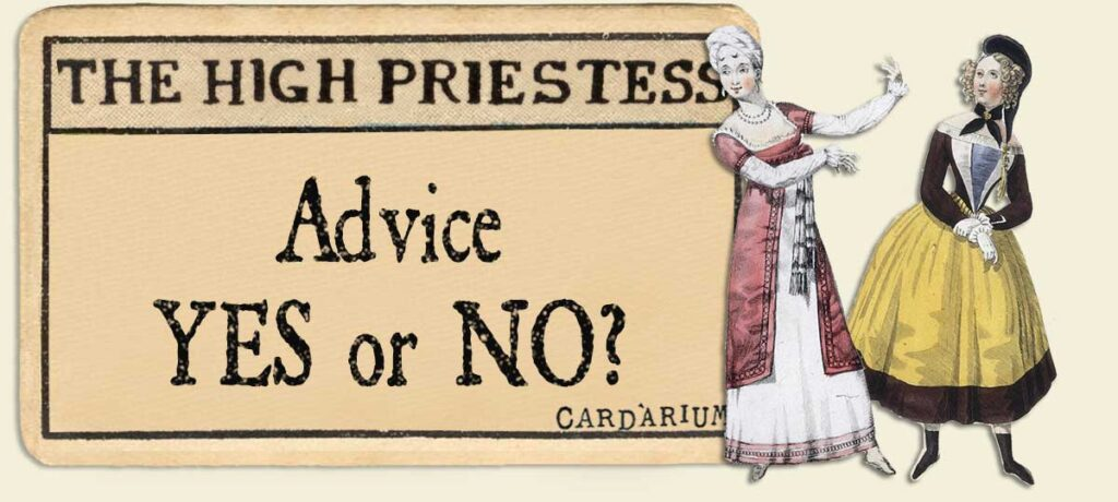 The High Priestess Advice Yes or No