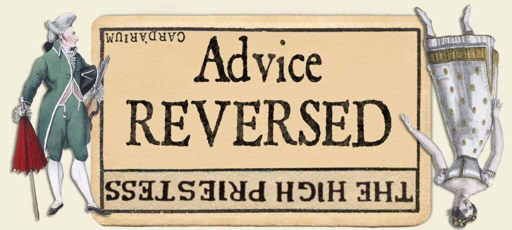 The High Priestess reversed advice yes or no