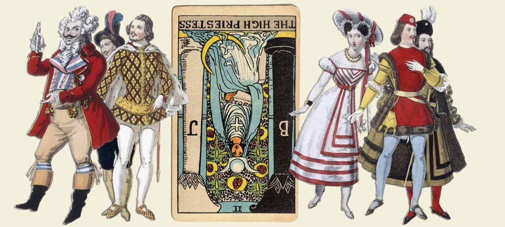The High Priestess reversed tarot card meaning yes or no