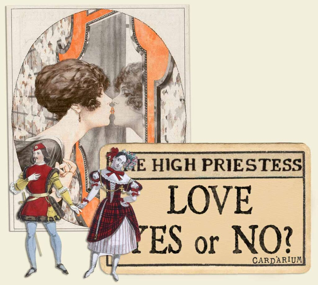 The High Priestess tarot card meaning for love yes or no