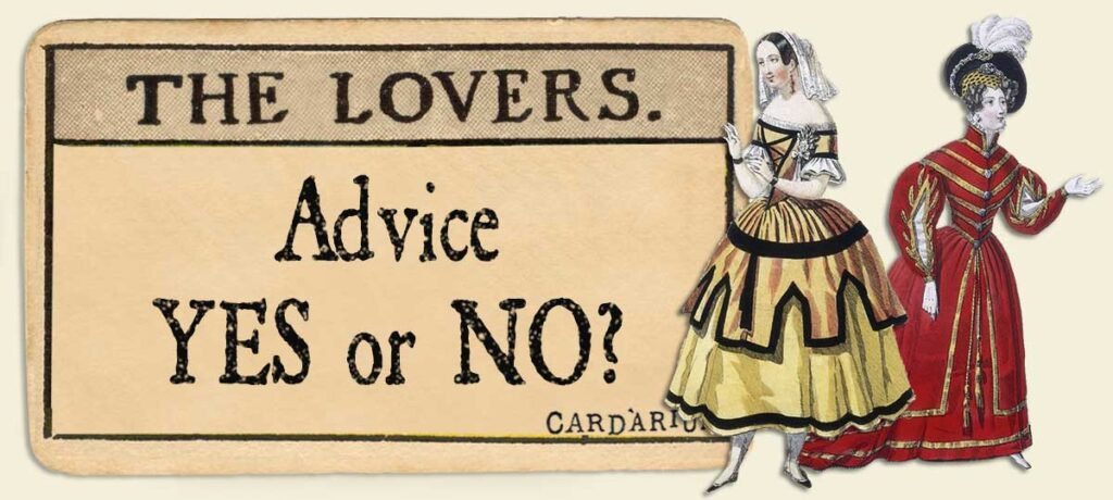 The Lovers Advice Yes or No