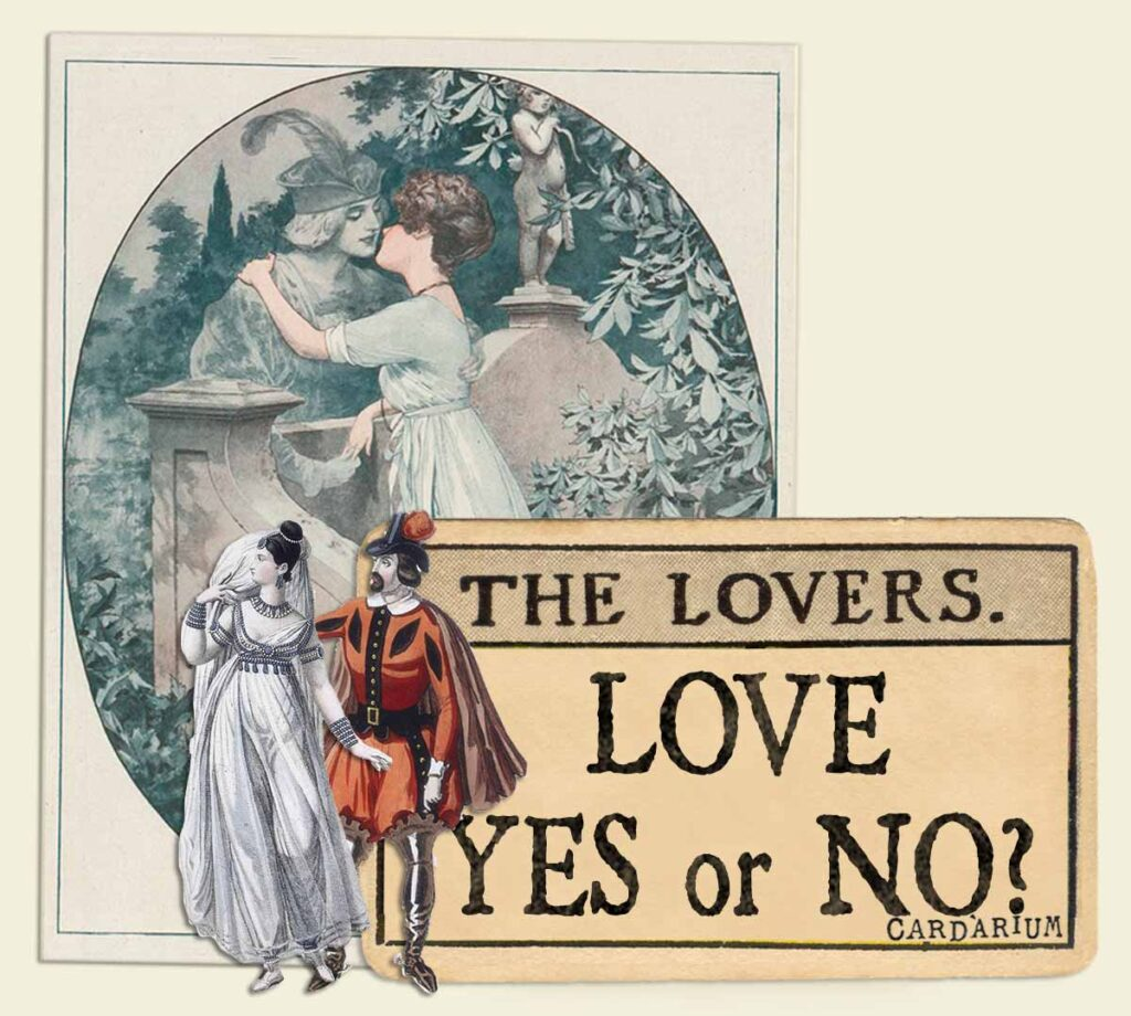 The Lovers tarot card meaning for love yes or no