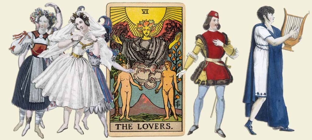 The Lovers tarot card meaning yes or no