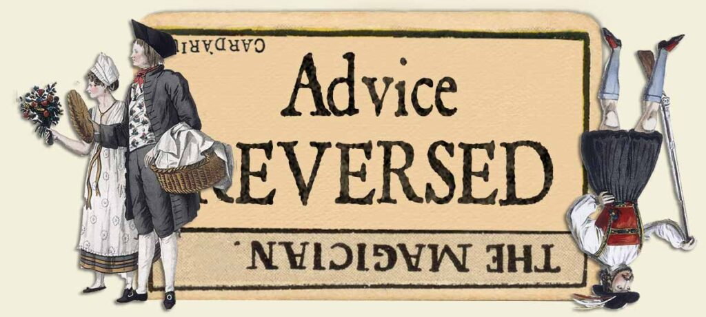 The Magician reversed advice yes or no