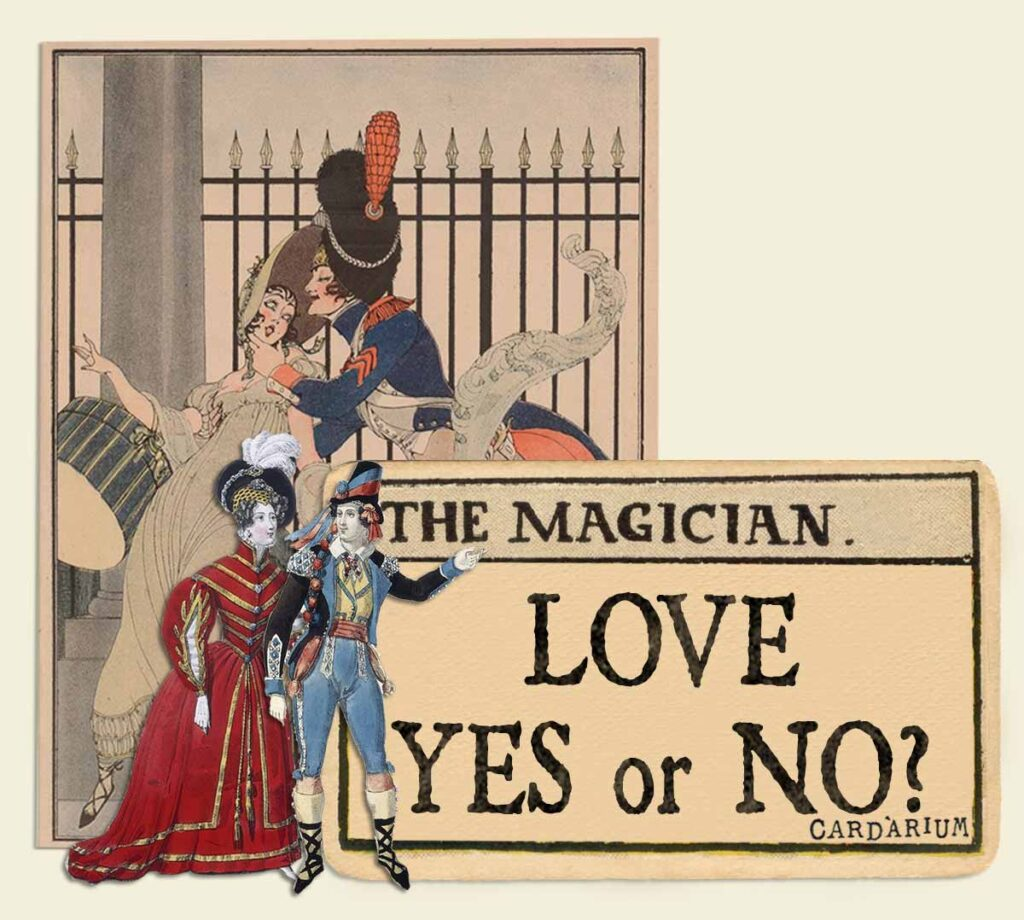 The Magician tarot card meaning for love yes or no