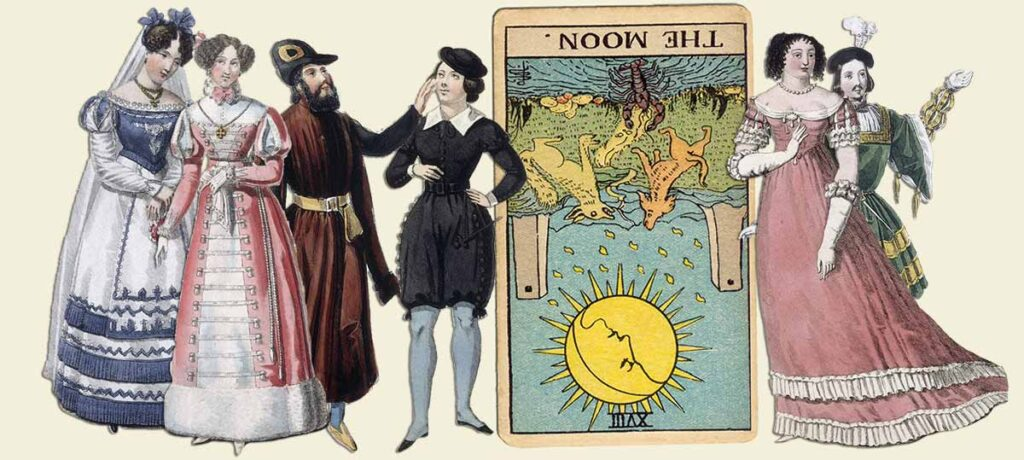 The Moon reversed tarot card meaning yes or no