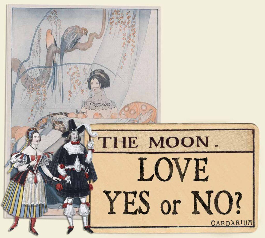 The Moon tarot card meaning for love yes or no