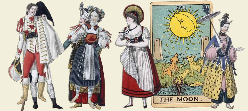 The Moon tarot card meaning yes or no