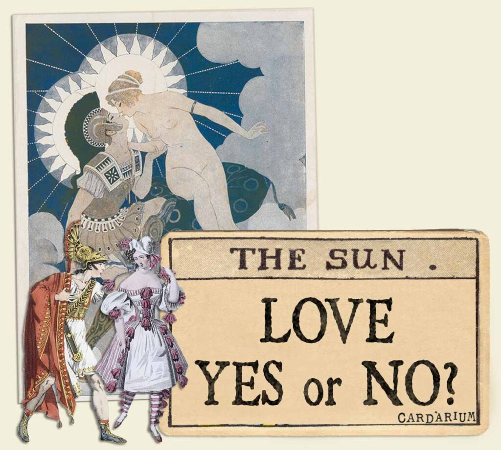 The Sun tarot card meaning for love yes or no