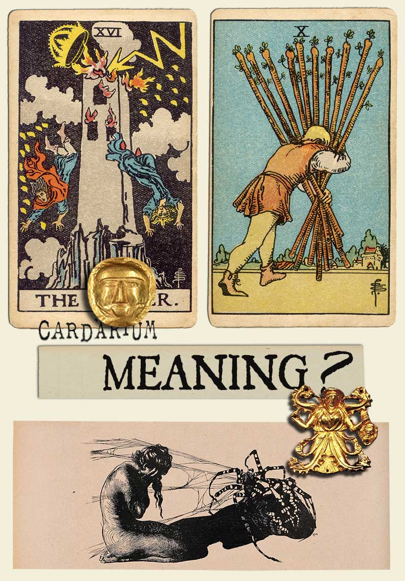 The Tower and Ten Of Wands