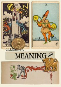 The Tower and Two Of Pentacles