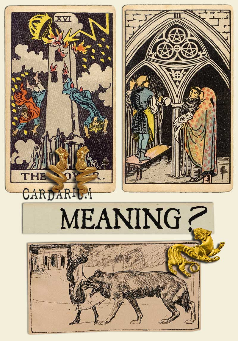 The Tower and Three Of Pentacles