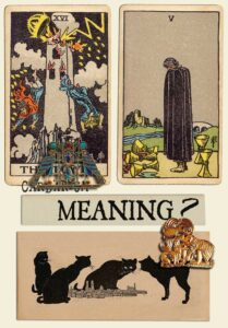 The Tower and Five Of Cups