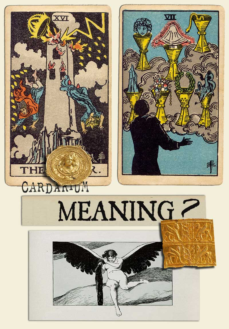 The Tower and Seven Of Cups
