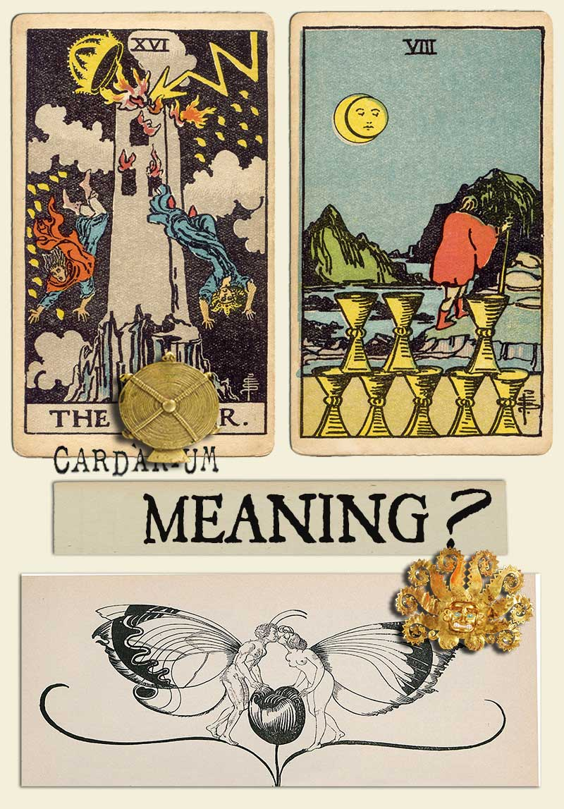 The Tower and Eight Of Cups