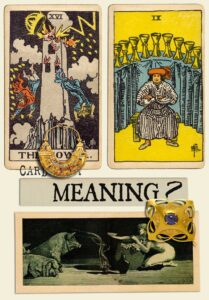 The Tower and Nine Of Cups