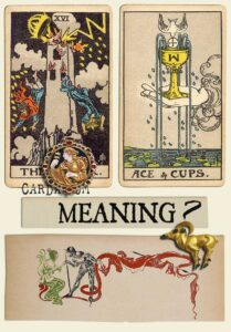 The Tower and Ace Of Cups