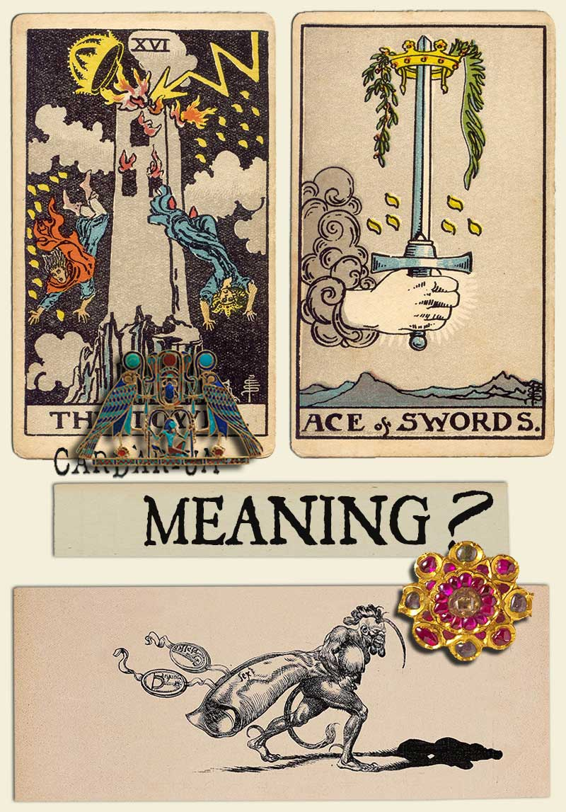 The Tower and Ace Of Swords