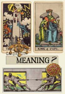 The Tower and King Of Cups