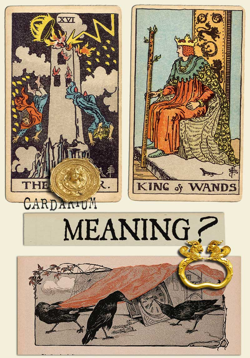 The Tower and King Of Wands