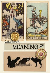 The Tower and Knight Of Cups