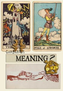 The Tower and Page Of Swords