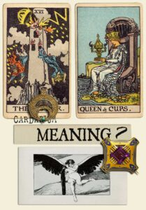 The Tower and Queen Of Cups