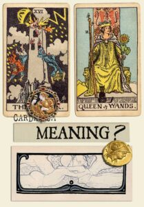 The Tower and Queen Of Wands