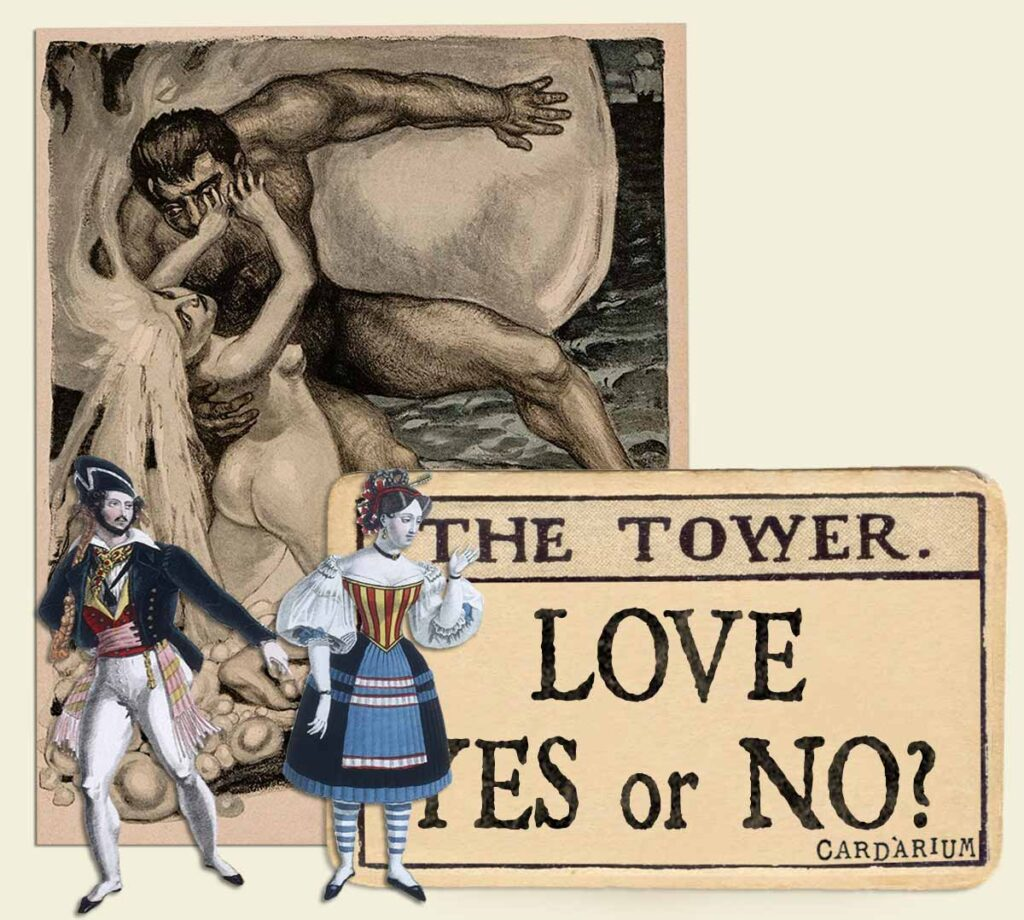 The Tower tarot card meaning for love yes or no