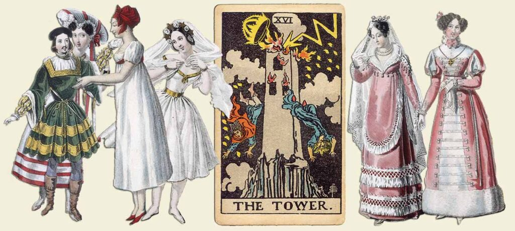 The Tower tarot card meaning yes or no