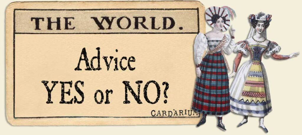 The World Advice Yes or No