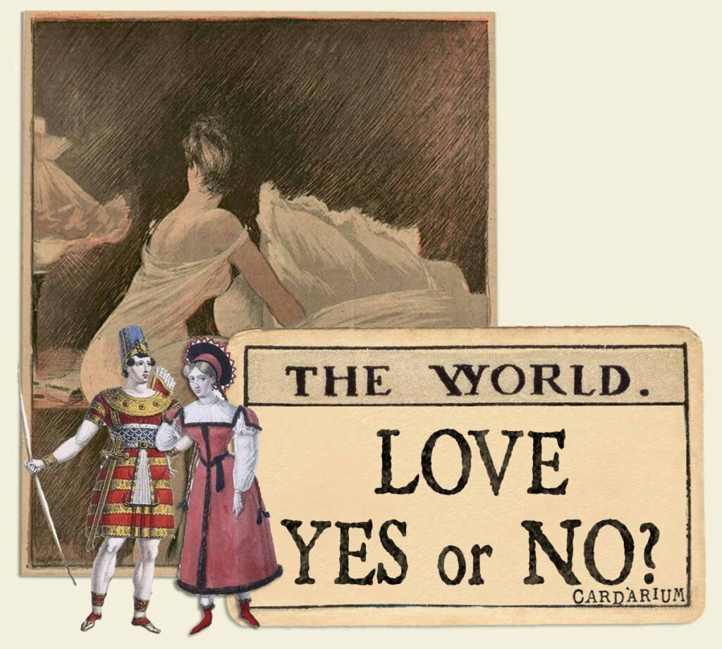 The World tarot card meaning for love yes or no