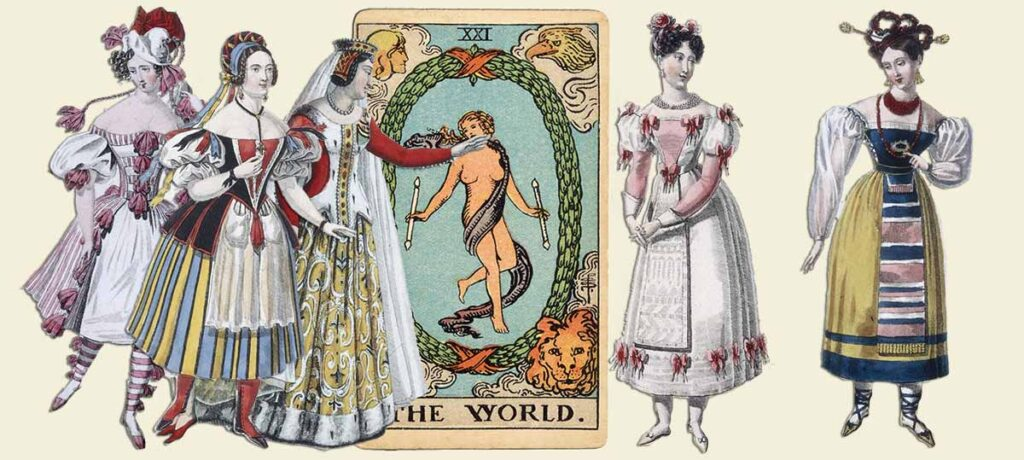 The World tarot card meaning yes or no
