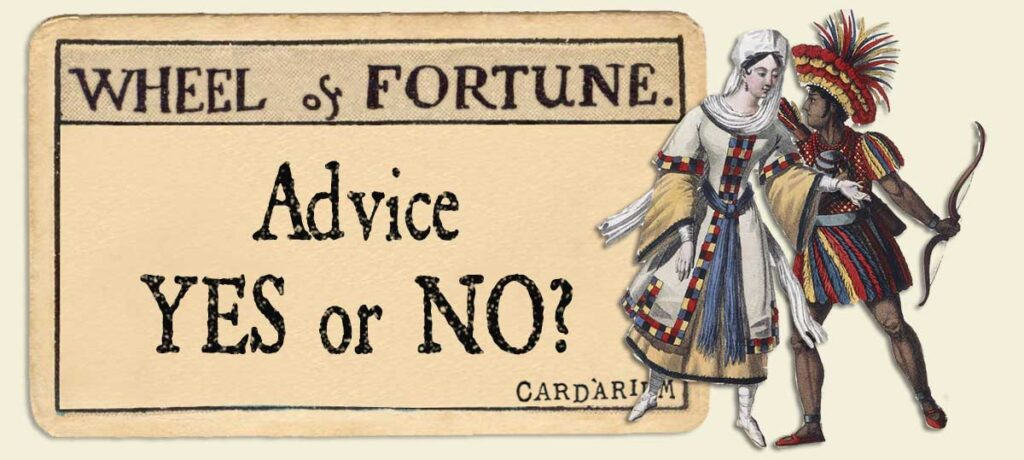 Wheel of Fortune Advice Yes or No