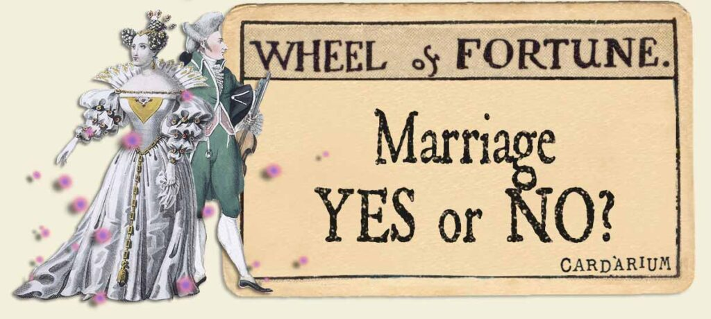 Wheel of Fortune marriage yes or no
