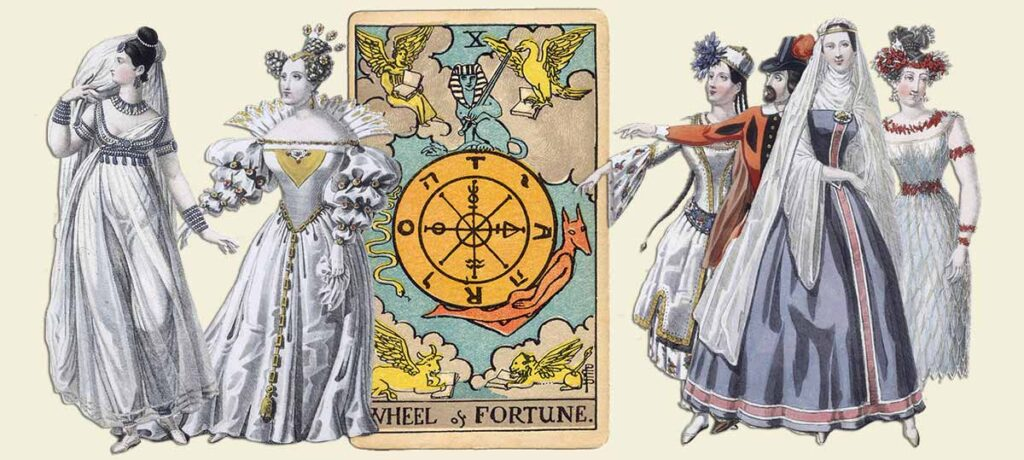 Wheel of Fortune tarot card meaning yes or no