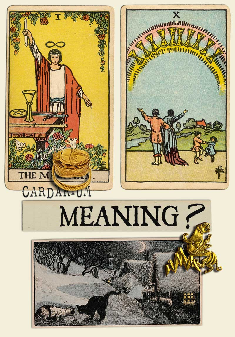 The Magician and Ten Of Cups
