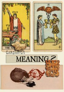 The Magician and Two Of Cups