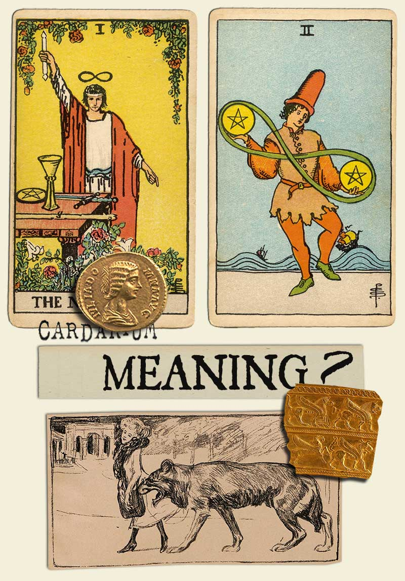 The Magician and Two Of Pentacles