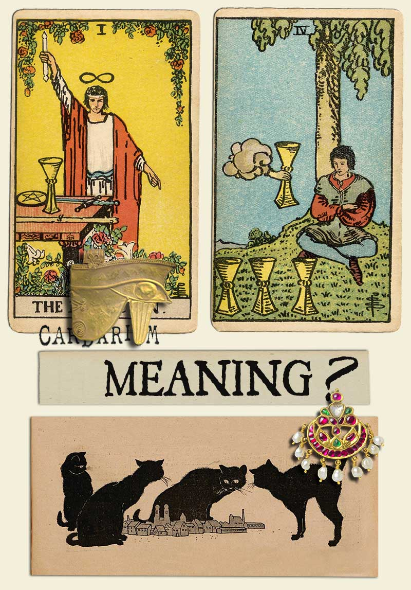 The Magician and Four Of Cups